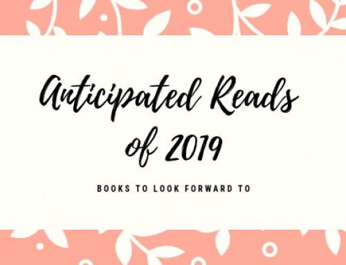 Anticipated Books of 2019