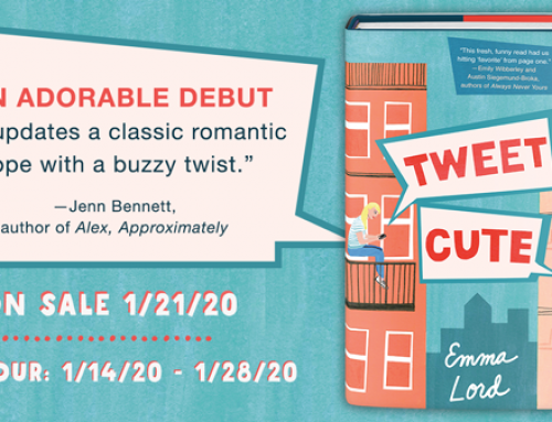 Tweet Cute by Emma Lord | Special Excerpt | Wednesday Books Blog Tour