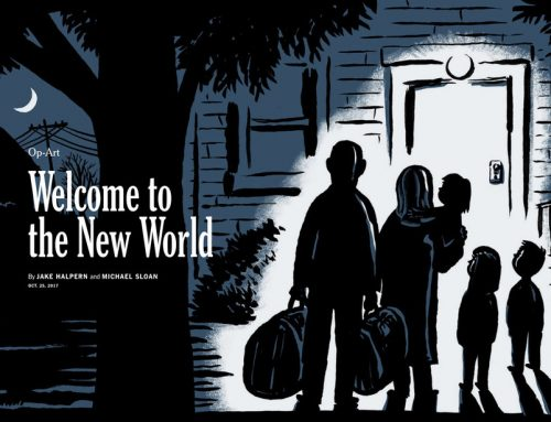 Welcome to the New World by Jake Halpern and Michael Sloan