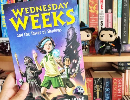 Wednesday Weeks and the Tower of Shadows By Denis Knight & Cristy Burne